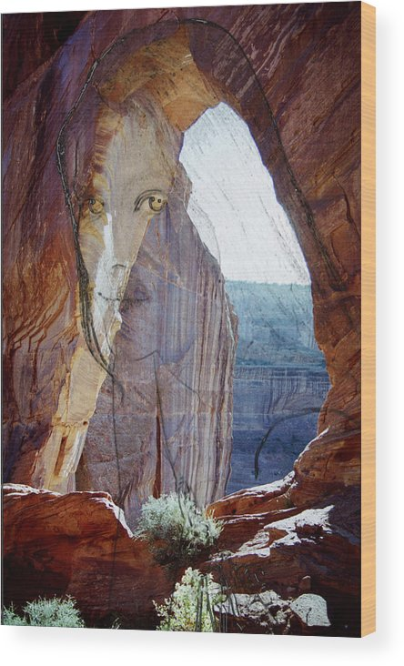Canyon De Chelly Wood Print featuring the photograph Canyon De Chelly Spirit by Richard Henne
