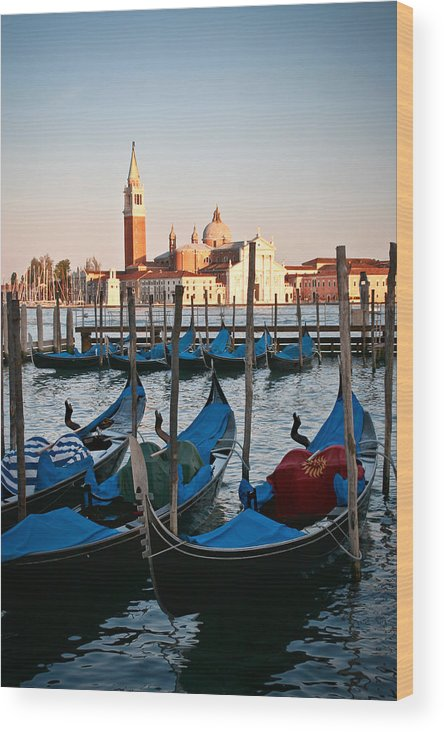 Venice Wood Print featuring the photograph Capturing Venice by Carl Jackson