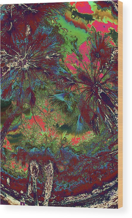 Trees Wood Print featuring the photograph Children 35 by Gary Bartoloni