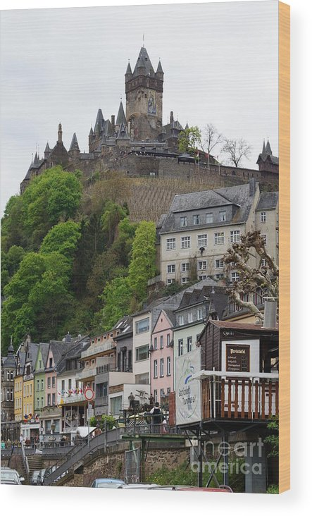 Castle Wood Print featuring the photograph Cochem by Kenneth Hayes