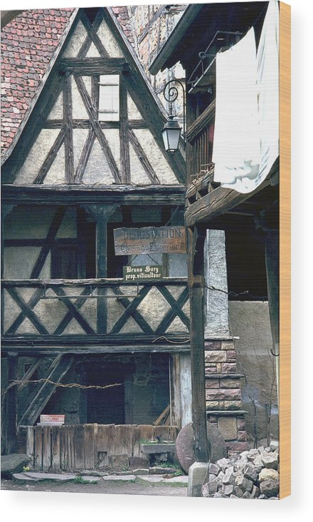 Colmar Wood Print featuring the photograph Colmar by Flavia Westerwelle