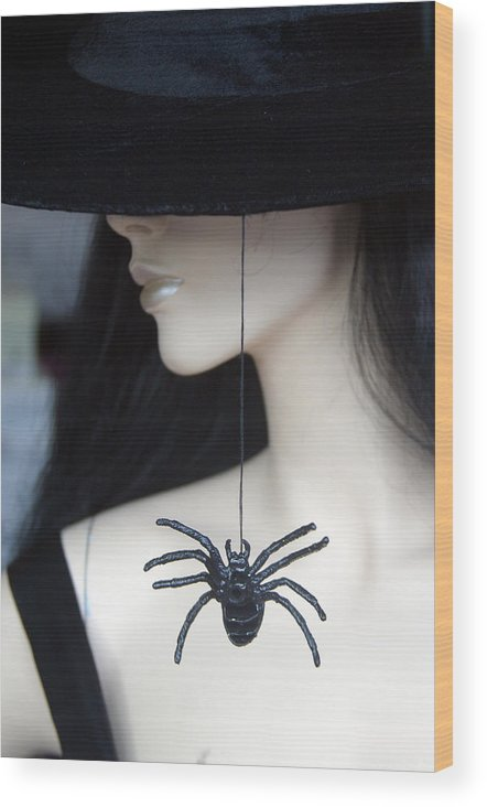 Jez C Self Wood Print featuring the photograph Crawling Up The Neck by Jez C Self