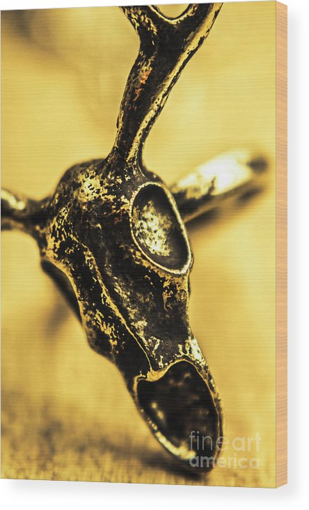 Jewelry Wood Print featuring the photograph Death Commitment by Jorgo Photography - Wall Art Gallery