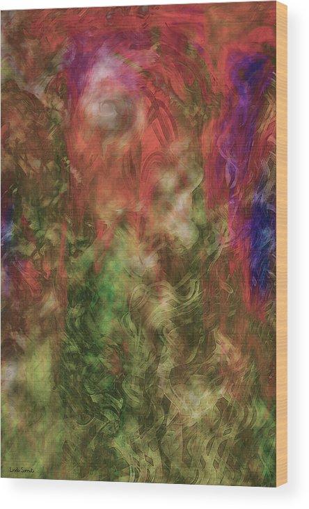 Endless Dream Wood Print featuring the digital art Endless Dream by Linda Sannuti
