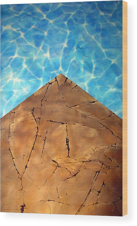 Jez C Self Wood Print featuring the photograph From The Earth Unto The Sea by Jez C Self