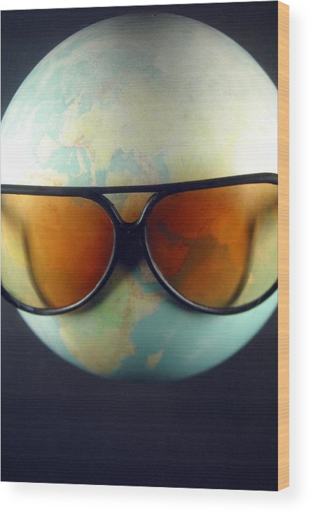 Jez C Self Wood Print featuring the photograph Global Warming by Jez C Self
