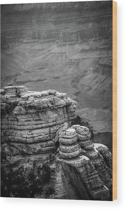 Grand Canyon Wood Print featuring the photograph Grand Canyon by Julie Thurgood