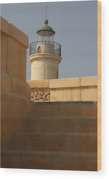 Photographer Wood Print featuring the photograph Light Light House by Jez C Self