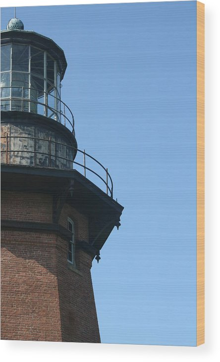 Lighthouse Wood Print featuring the photograph Lighthouse II by Jeff Porter