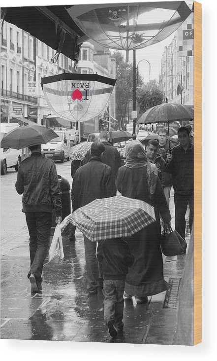 Jez C Self Wood Print featuring the photograph London Summer by Jez C Self