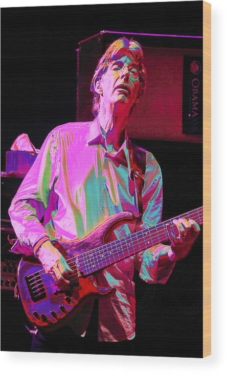 Bass Wood Print featuring the photograph Maestro by Jesse Ciazza