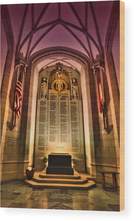 Church Wood Print featuring the photograph Monumental by Evelina Kremsdorf