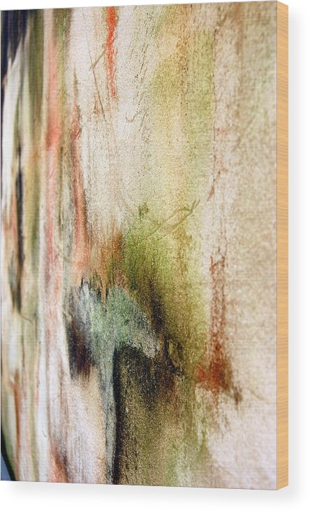 Abstract Wood Print featuring the photograph Nj Abstract Four by Heather S Huston
