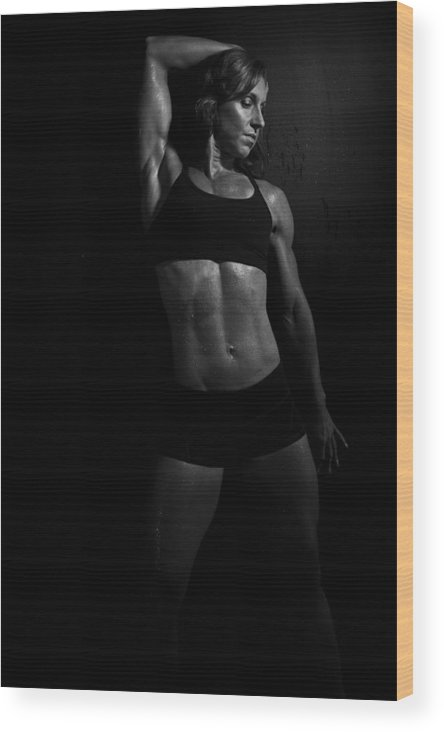 Fitness Wood Print featuring the photograph Not Just Squats by Monte Arnold