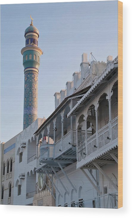Oman Wood Print featuring the photograph Old Muscat by Barbara Kyne
