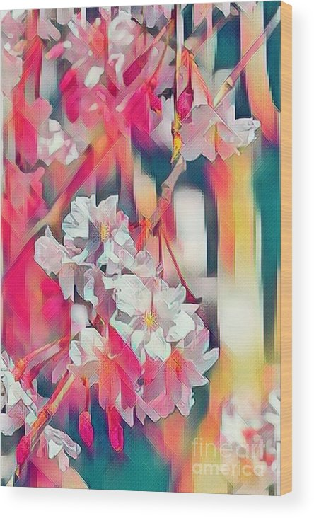 Abstract Wood Print featuring the photograph Prism by Cathy Donohoue