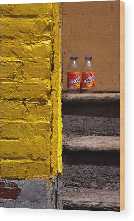 Montreal Wood Print featuring the photograph Still Life With Snapple by Art Ferrier