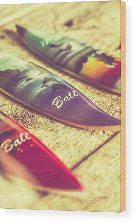 Board Wood Print featuring the photograph The Art Of Surf by Jorgo Photography - Wall Art Gallery
