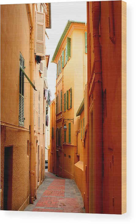 Photgrahy Wood Print featuring the photograph The Streets Of Venice by Greg Sharpe
