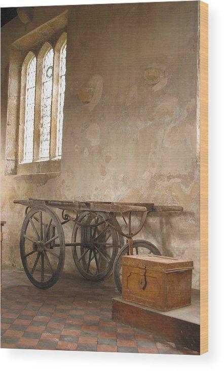 Jez C Self Wood Print featuring the photograph Three Wheels On My Wagon by Jez C Self
