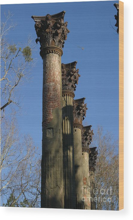Architechure Wood Print featuring the photograph Towers Of Windser by Janice Keener