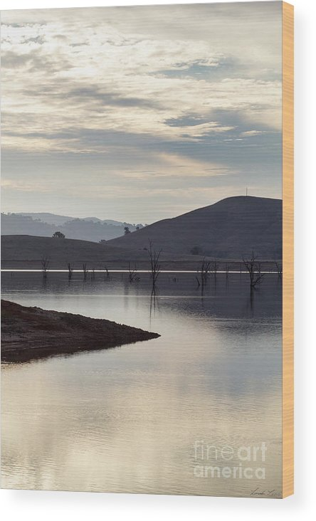 Lake Wood Print featuring the photograph Tranquil by Linda Lees