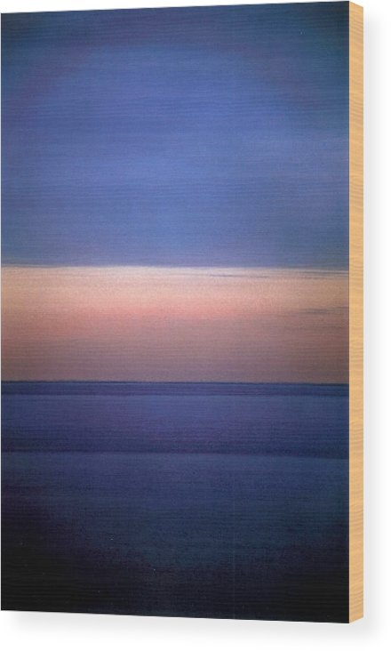 Landscape Wood Print featuring the photograph Vertical Number 18 by Sandra Gottlieb