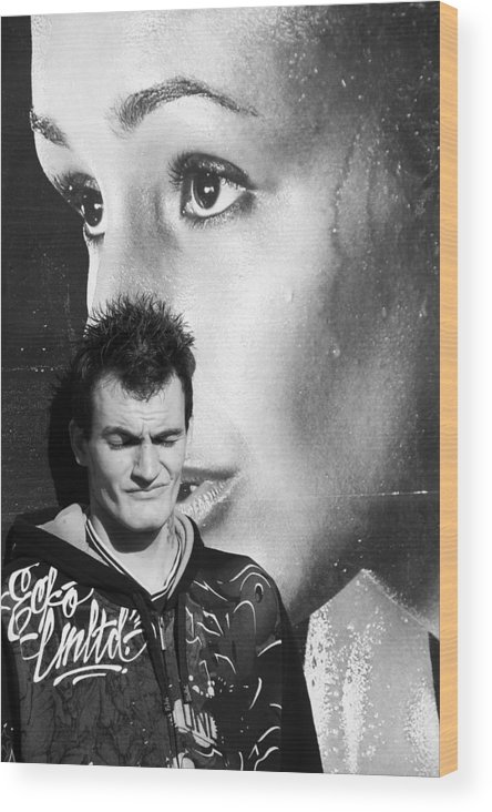 Photographer Wood Print featuring the photograph Watching Over You Craig 2 by Jez C Self