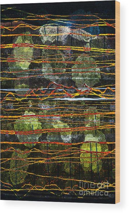 Westmorland Wood Print featuring the digital art Westmorland by Andy Mercer
