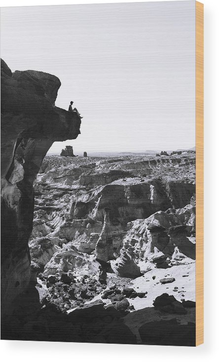 White Rocks Wood Print featuring the photograph White Rocks by Chad Dutson