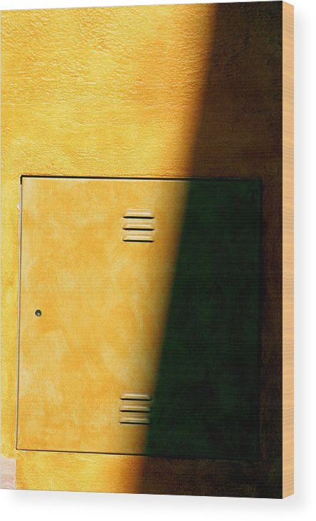 Photographer Wood Print featuring the photograph Yellow Escape by Jez C Self