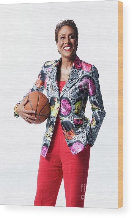 Nba Pro Basketball Wood Print featuring the photograph 2019 Nba Awards Show 2019 by Atiba Jefferson