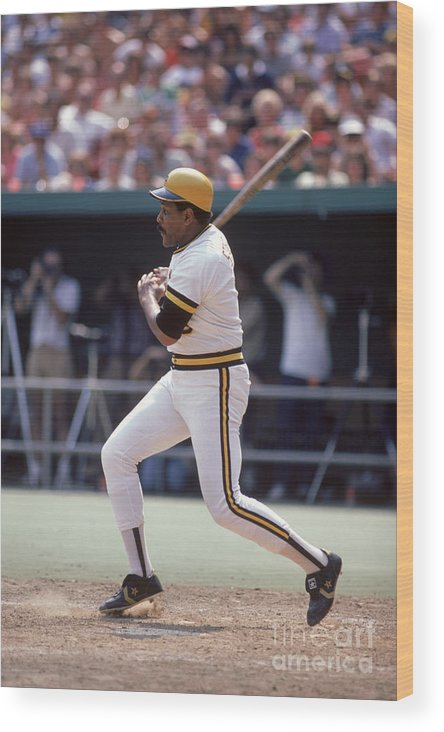 1980-1989 Wood Print featuring the photograph Mlb Photos Archive 69 by Rich Pilling