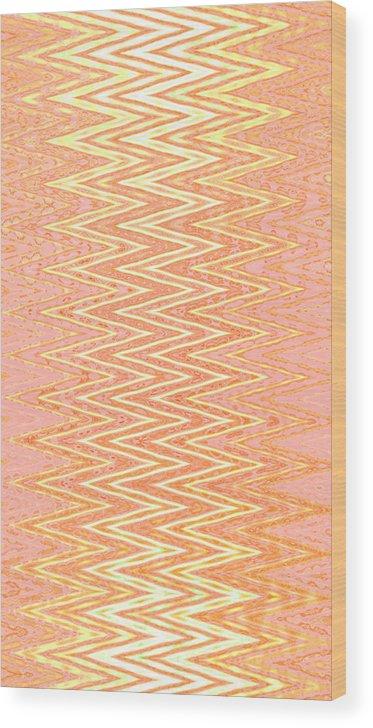 Moveonart! Global Gathering. -- Digital Abstract Art By Artist Jacob Kane -- Omnetra Wood Print featuring the digital art Moveonart Joyforstrength by Jacob Kanduch