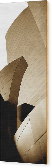 Architecture Wood Print featuring the photograph 08001 by Jeffrey Freund