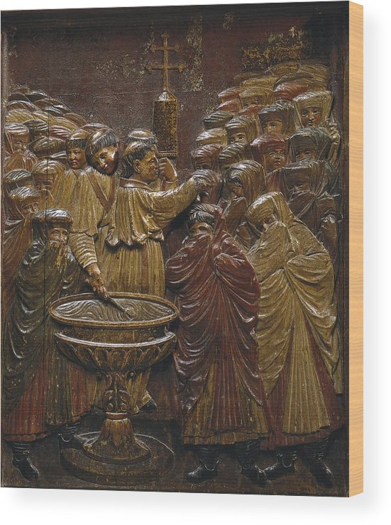 Vertical Wood Print featuring the photograph Berruguete, Alonso 1480-1561 Bigarny Or by Everett