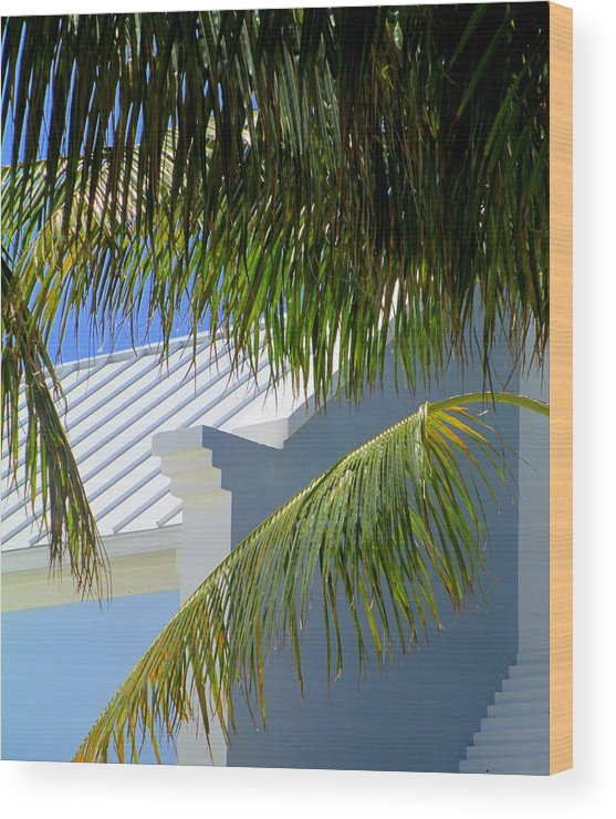 Architecture Wood Print featuring the photograph Grand Turk Architecture by Randall Weidner