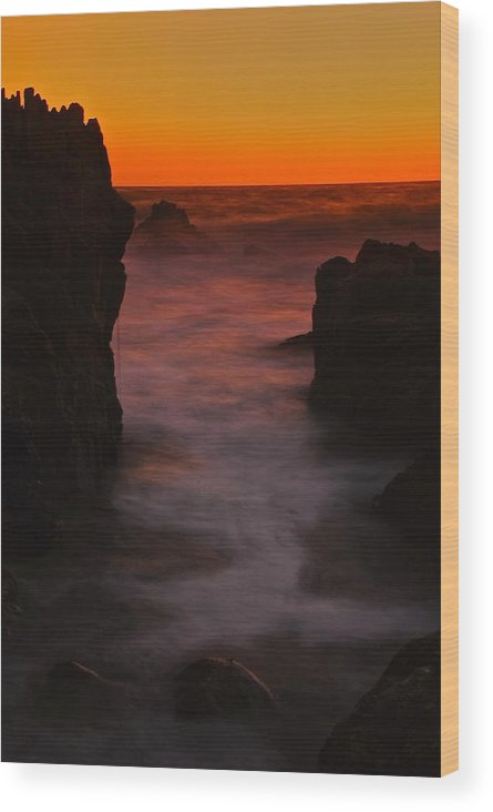 Sunset Wood Print featuring the photograph Barbosa by Jean-Pierre Mouzon