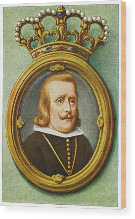 Philip Wood Print featuring the drawing Philip Iv, King Of Spain Reigned by Mary Evans Picture Library
