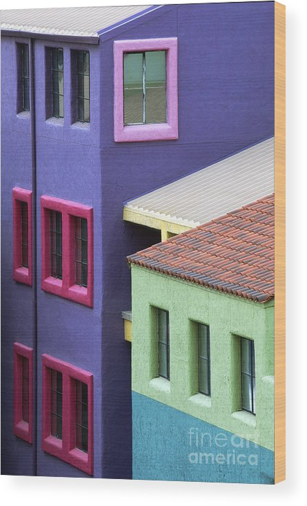 Bronstein Wood Print featuring the photograph Colors Of Tucson by Sandra Bronstein