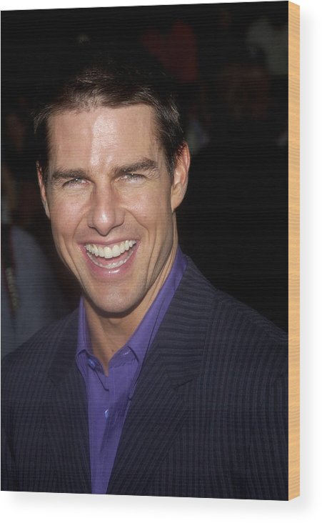 1cag04 Wood Print featuring the photograph Tom Cruise At The Premiere by Everett
