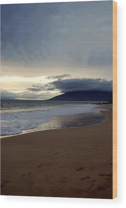 Wood Print featuring the photograph Maui by JK Photography