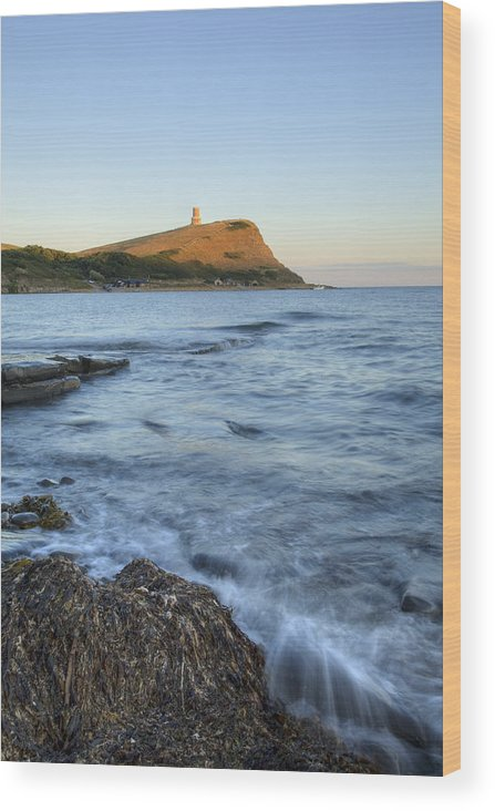 Kimmeridge Wood Print featuring the photograph Kimmeridge Bay In Dorset by Ian Middleton