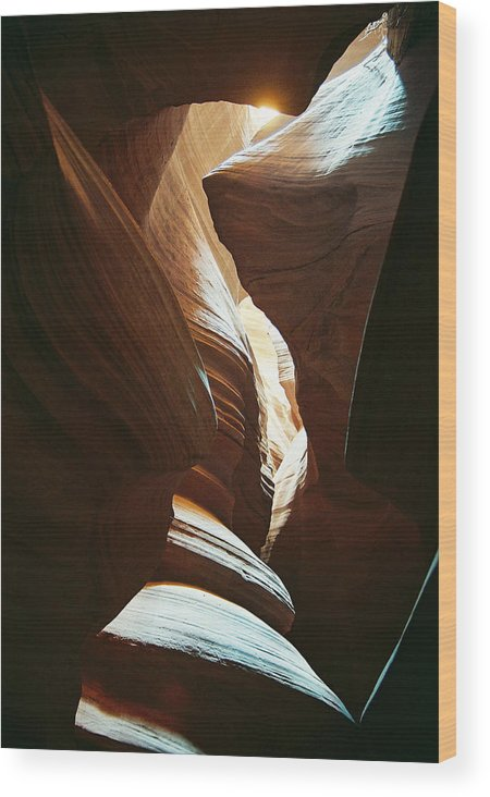 Arizona Wood Print featuring the photograph A Spritual Light by Cathy Franklin