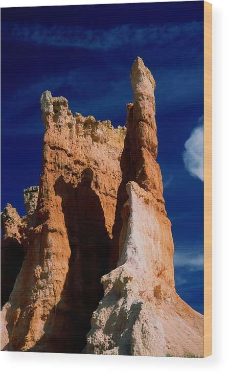 Bryce Canyan Wood Print featuring the photograph Bryce Canyon 8 by Art Ferrier