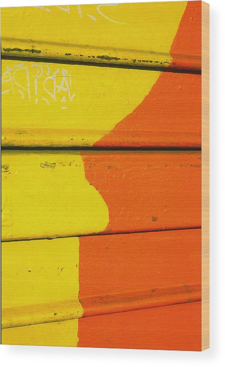 Abstract Wood Print featuring the photograph High Key by Art Ferrier