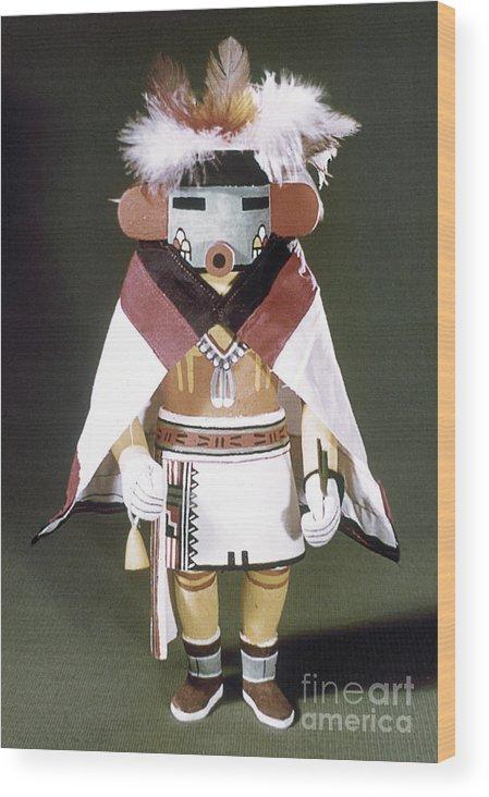 Arizona Wood Print featuring the photograph Hopi Kachina Doll by Granger