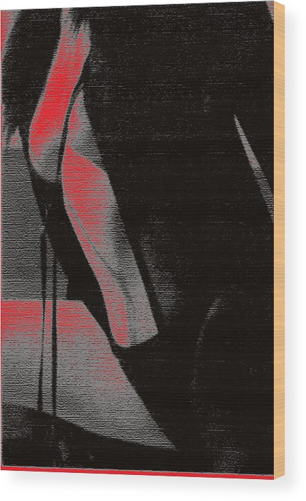 Nude Wood Print featuring the photograph Neglige by B and C Art Shop