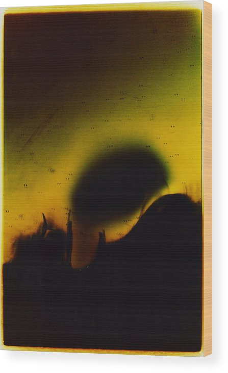 Abstract Wood Print featuring the photograph Ormand by David Rivas