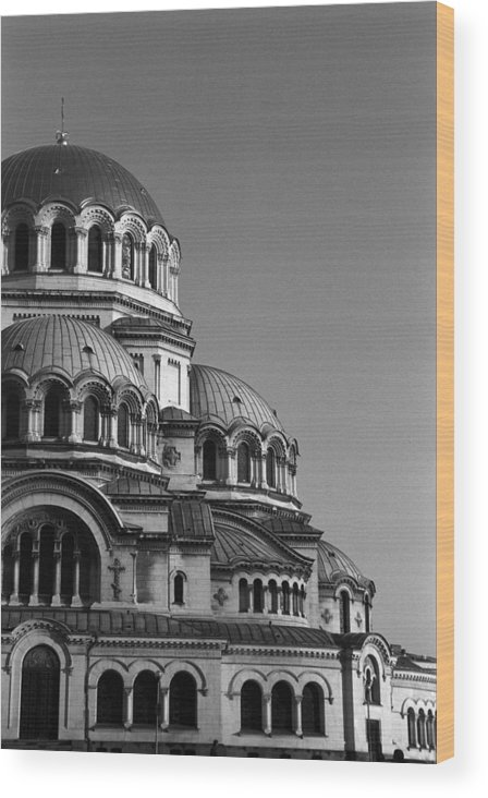 Sofia Wood Print featuring the photograph Sophia Church by Marcus Best